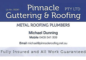 Pinnacle Guttering and Roofing