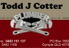 Todd Cotter Plumbing & Drainage