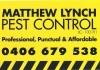 Matthew Lynch Pest Control