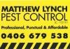 Matthew Lynch Pest Control