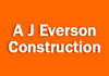 A J Everson Construction