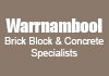 Warrnambool Brick Block & Concrete Specialists