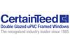 CertainTeed PVC Framed Double Glazed Windows