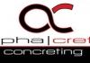 Alpha/Crete Concreting