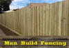 Man Build Fencing