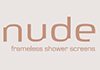 Nude Frameless Shower Screens