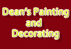 Dean's Painting and Decorating