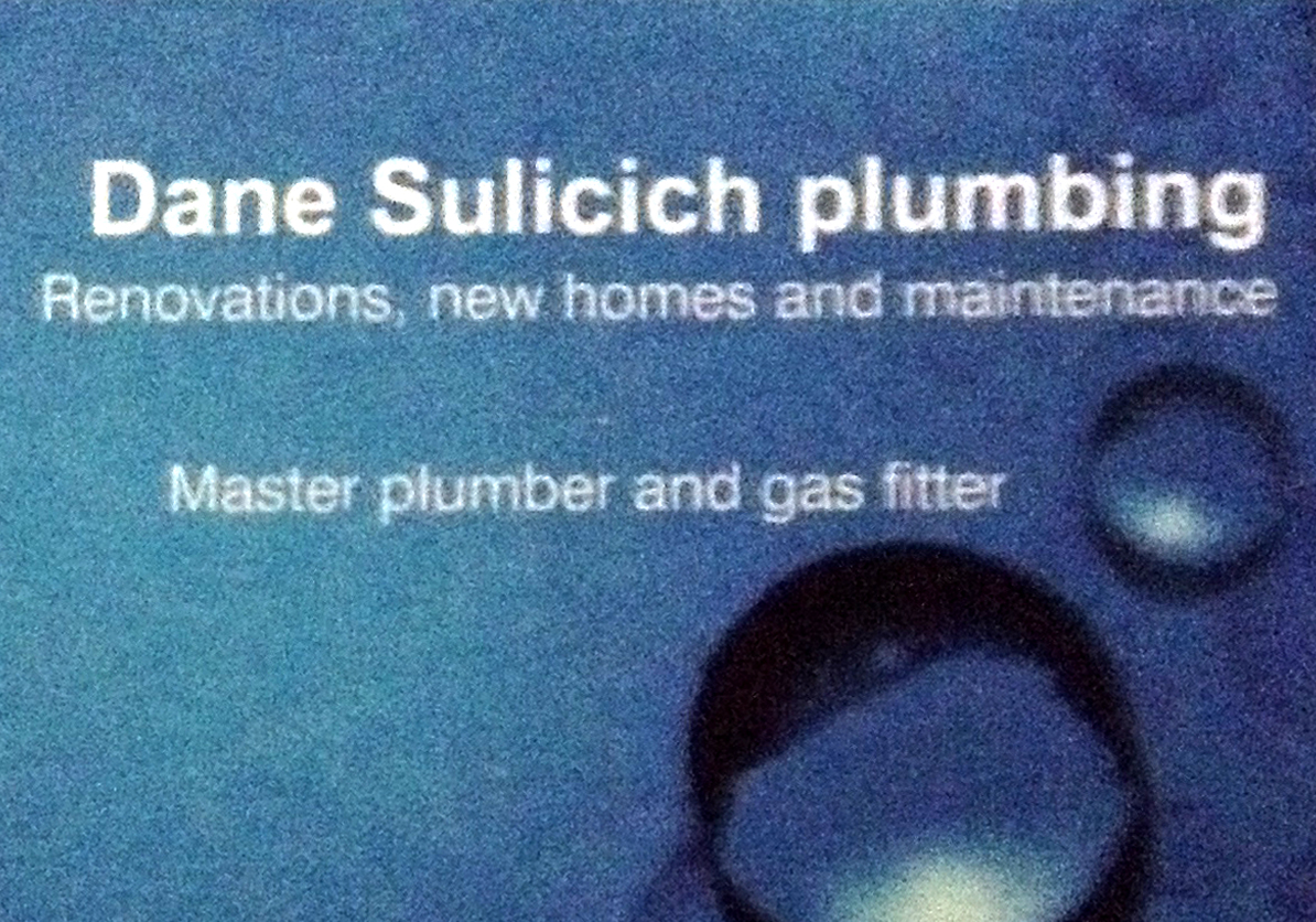 Dane Sulicich Plumbing