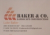 Baker & Co Landscape Construction
