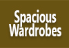 Spacious Wardrobes