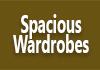 Spacious Wardrobes
