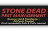 Stone dead pest management