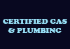 Certified gas and plumbing