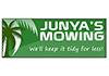 Junya's mowing