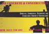Mr Concrete and Construction Pty Ltd