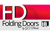 Folding doors by GT Blinds