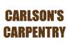 Carlson's Carpentry