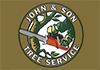 John and Son tree services