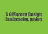S G Maroun design landscaping,paving
