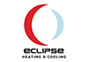 Eclipse Heating and Cooling