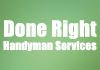 Done Right - handyman services