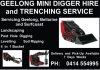 Geelong Mini Digger Hire