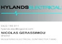 Hylands Electrical Pty Ltd