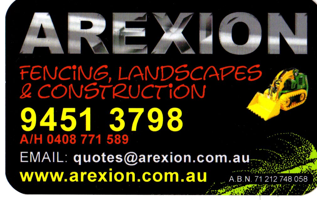 Arexion - Fencing, Landscaping and more ...