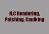 N.C Rendering, Patching, Caulking
