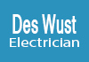 Des Wust Electrician