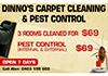 Dinno's Carpet Cleaning and Pest Control
