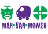 Man, Van, Mower