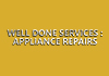 Well Done Services : Appliance Repairs