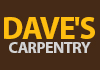 Dave's Carpentry