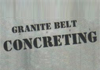 Granite Belt Concreting