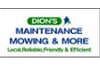 Dions Maintenance Mowing & More