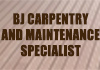 BJ Carpentry and Maintenance Specialist