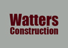 Watters Construction