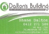 Dalton's Building & Welding Services