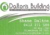 Dalton's Building & Welding Services