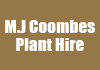 M.J Coombes Plant Hire