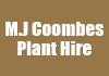 M.J Coombes Plant Hire