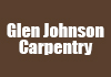 Glen Johnson Carpentry