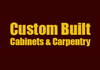 Custom Built Cabinets & Carpentry