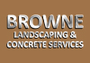 Browne Landscaping & Concrete Services