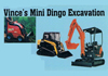 Vince's Mini Dingo Excavations