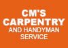 CM's Carpentry and Handyman service