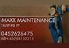 Maxx Maintenance