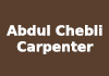 Abdul Chebli Carpenter