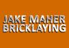 Jake Maher bricklaying